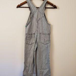 OshKosh B'gosh Bottoms - Vintage oshkosh Bagosh blue white striped overalls